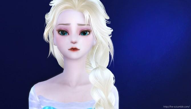 Frozen Elsa Poses At Hess 187 Sims 4 Updates