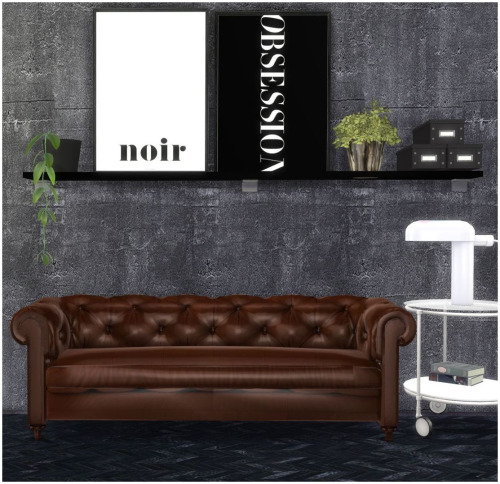 Sims 4 Paintings + industrial wallpaper + rug collection 7 at Hvikis