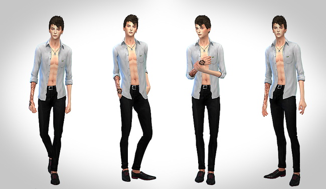 Male sim at ChiisSims – Chocolatte Sims image 589 Sims 4 Updates