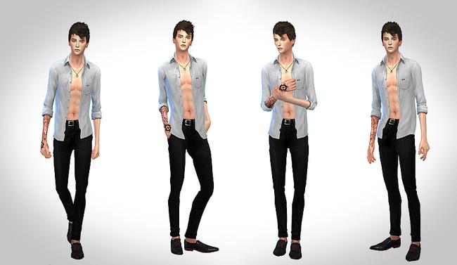 Male sim at ChiisSims – Chocolatte Sims image 589 Sims 4 Updates