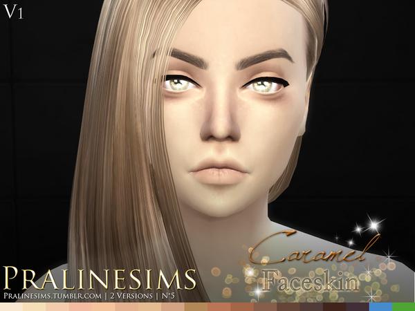 Caramel Faceskin by Pralinesims at TSR image 590 Sims 4 Updates