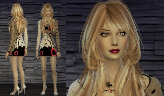 Charm Kennedy by TheReds at Thomas J Chee image 5920 670x394 Sims 4 Updates