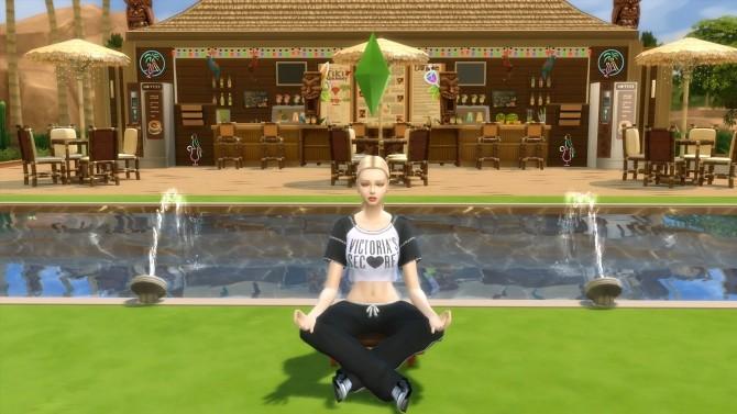 Sims 4 Tiki Spa Center by Mykuska at Mod The Sims