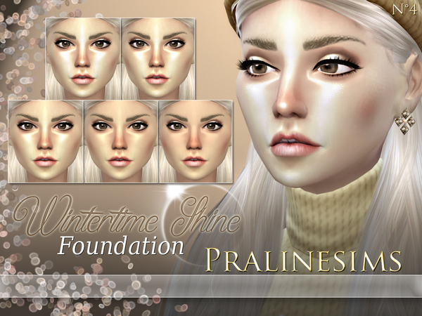 Sims 4 Summertime & Wintertime Foundation Duo by Pralinesims at TSR