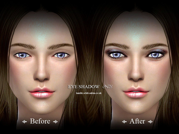 Sims 4 Eyeshadow 05 by S Club LL at TSR