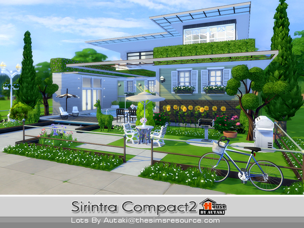 Sirintra Compact Design 2 by autaki at TSR image 613 Sims 4 Updates