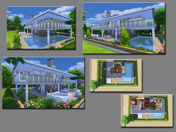 MB Brownstone House by matomibotaki at TSR image 6313 Sims 4 Updates