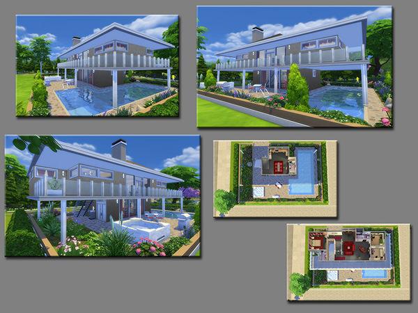 Sims 4 MB Brownstone House by matomibotaki at TSR