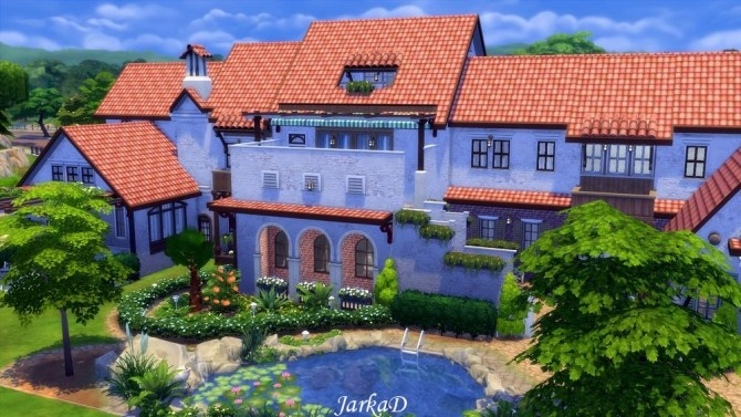 Casa azura at jarkad sims 4 blog sims 4 updates for Sims 4 piani di casa