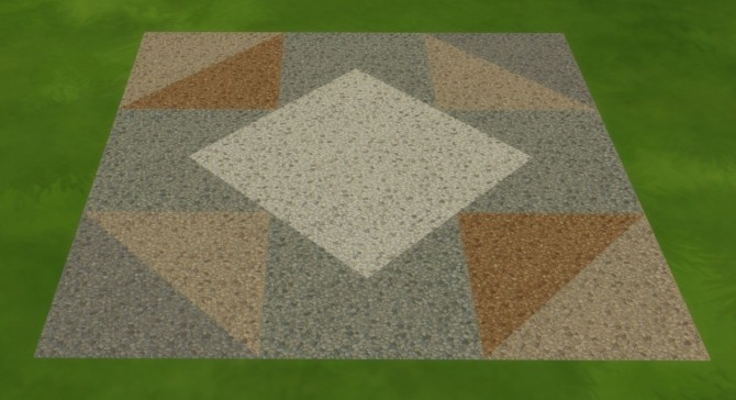 Sims 4 Gravel Floor Tiles by Warsteina at Mod The Sims