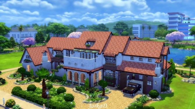Sims 4 Casa AZURA at JarkaD Sims 4 Blog