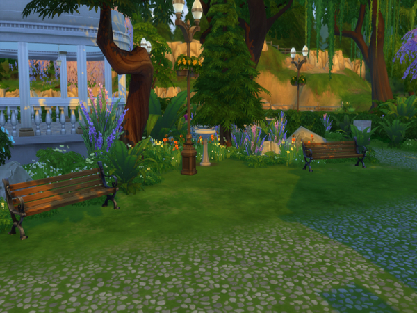 Sims 4 River Highlands Park by LeonFress at TSR