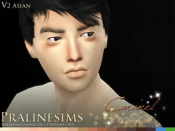 Caramel Faceskin by Pralinesims at TSR image 690 Sims 4 Updates