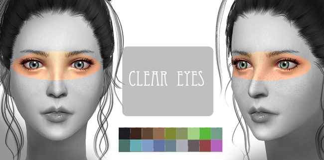 Sims 4 Clear eyes at ChiisSims – Chocolatte Sims
