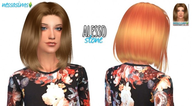 Mini Hair Dump #4 at Nessa Sims image 7111 670x370 Sims 4 Updates