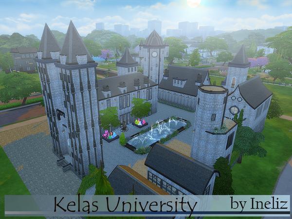 Kelas University by Ineliz at TSR image 7123 Sims 4 Updates
