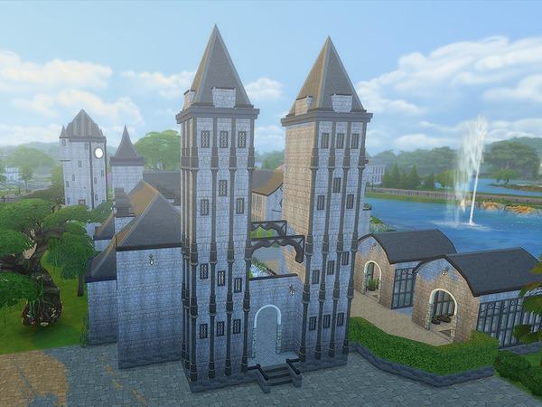 Kelas University by Ineliz at TSR image 7218 Sims 4 Updates