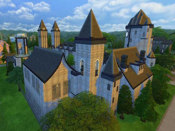 Kelas University by Ineliz at TSR image 7418 Sims 4 Updates