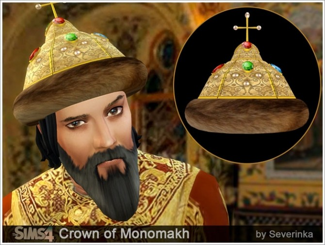 Monomakhs crown and beards at Sims by Severinka image 7619 670x505 Sims 4 Updates