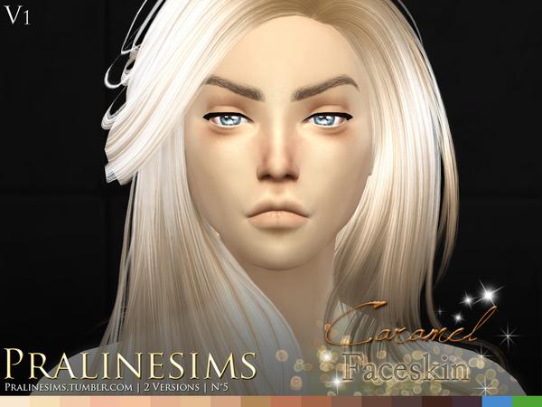 Caramel Faceskin by Pralinesims at TSR image 770 Sims 4 Updates