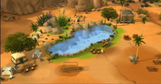 Swimming Lake by mrsyule at Mod The Sims » Sims 4 Updates