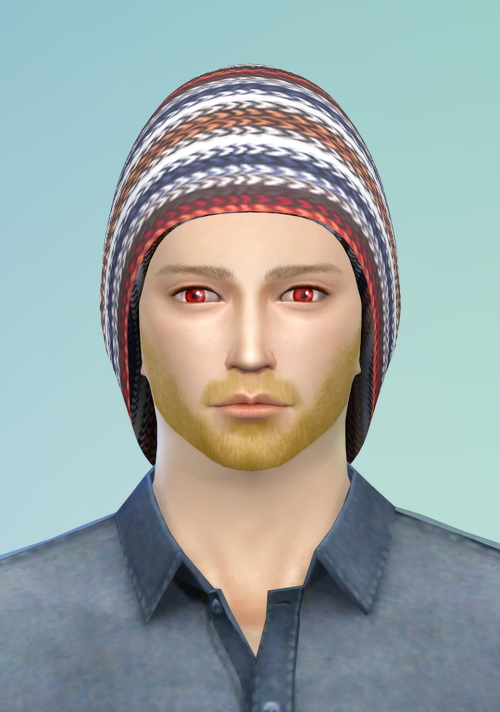 Sims 4 Beanie hat at Happy Life Sims