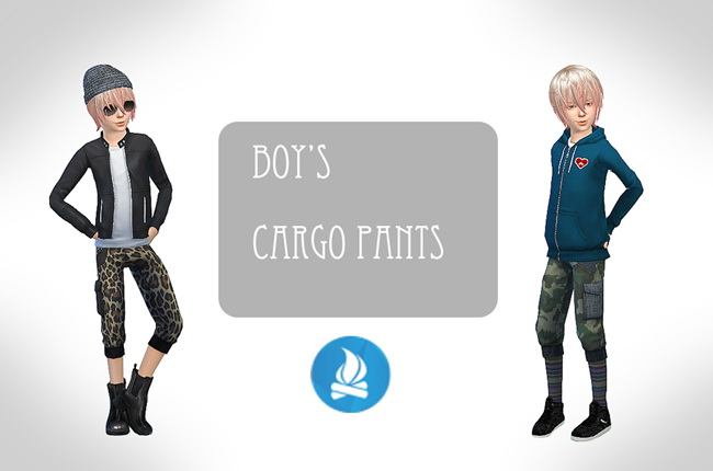 Cargo pants for boys at ChiisSims – Chocolatte Sims image 793 Sims 4 Updates