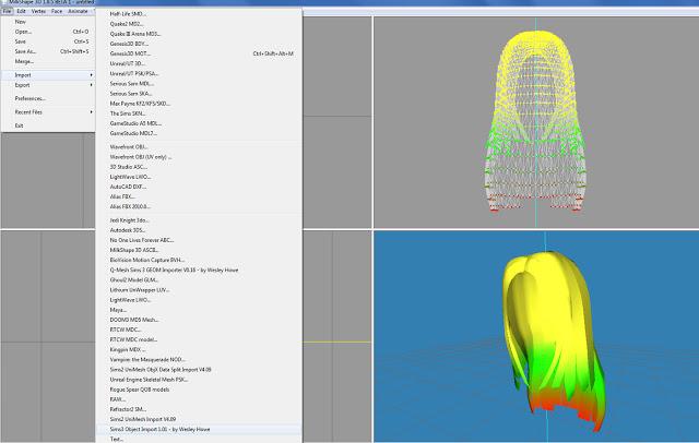 Sims 4 Hair Bone assignment for The Sims 4 at Lunararc