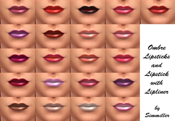 21 New Shades of Lipstick by Simmiller at Mod The Sims image 8117 670x465 Sims 4 Updates