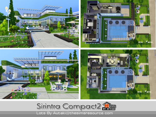 Sirintra Compact Design 2 by autaki at TSR image 813 Sims 4 Updates