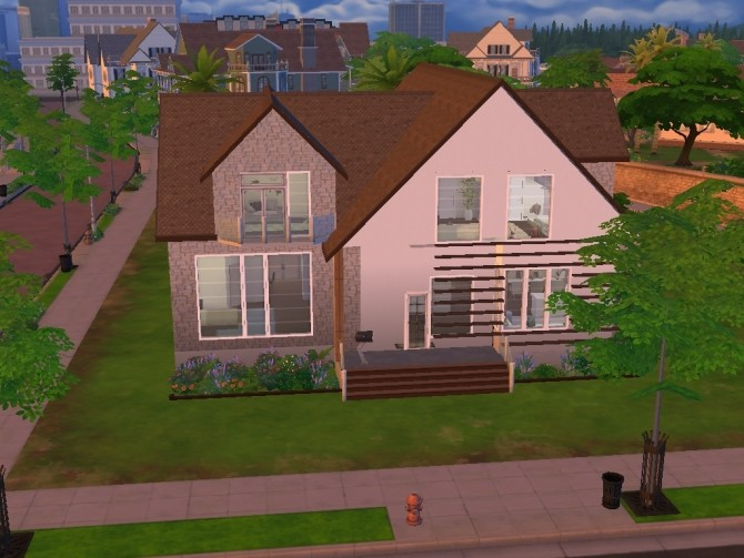 House With Attic family house with atticlalucci at mod the sims » sims 4 updates