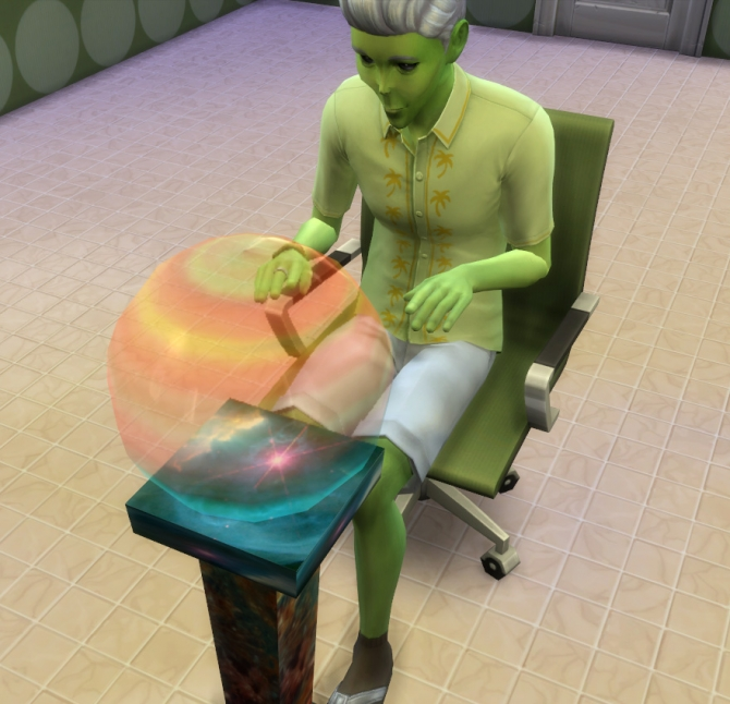 Crystal Ball Pc For Fantasy Sims By Esmeralda At Mod The