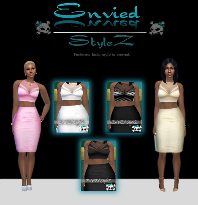 Sims 4 OG PS Part Sheer Top Outfit by MzEnvy20 at Mod The Sims
