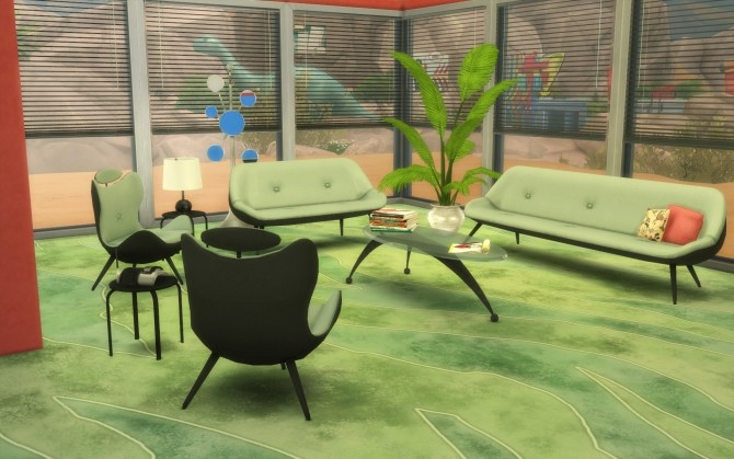 Ordinaire 60s Living Room Set By LOolyharb1 At Mod The Sims