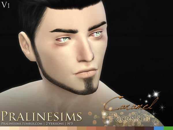 Caramel Faceskin by Pralinesims at TSR image 870 Sims 4 Updates