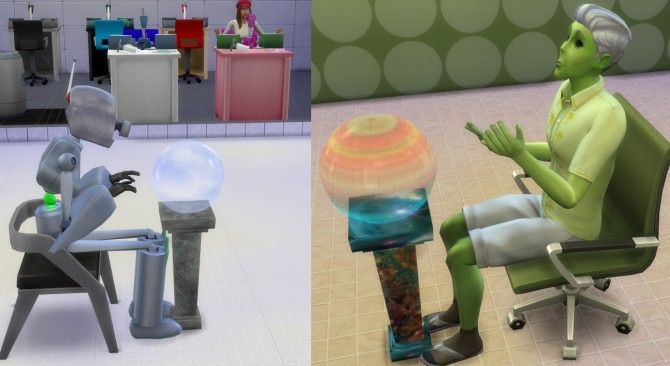 Sims 4 Crystal Ball PC for Fantasy Sims by Esmeralda at Mod The Sims