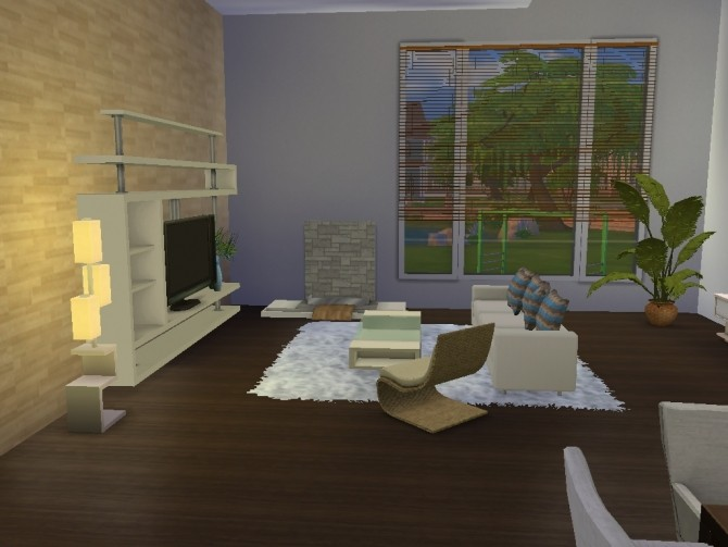 Sims 4 Family house with attic by lalucci at Mod The Sims
