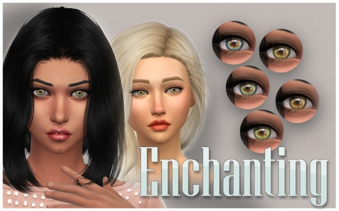 Enchanting 5 Eye Contacts by kellyhb5 at Mod The Sims image 8816 670x417 Sims 4 Updates