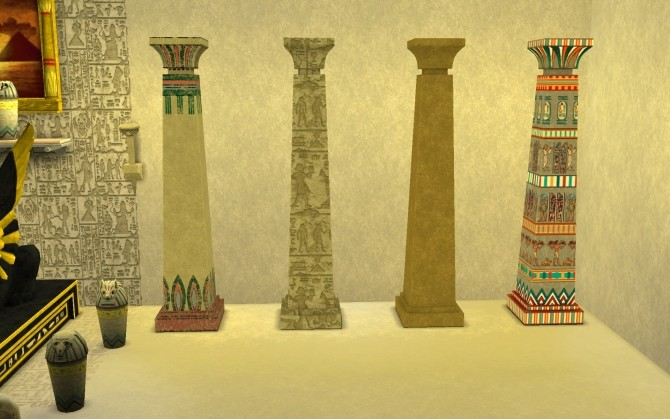 Egypt Relics 2 By G1g2 At Mod The Sims 187 Sims 4 Updates