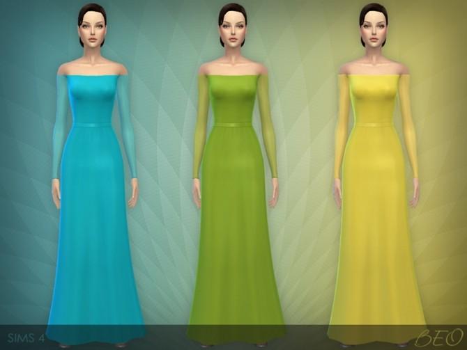 Sims 4 DRESS 05 at BEO Creations