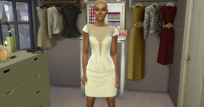 Peplum Eve Dress by MzEnvy20 at Mod The Sims image 884 670x353 Sims 4 Updates