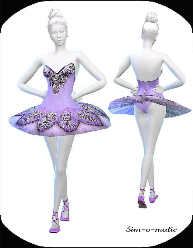 Dance dress at Sim o Matic image 90 Sims 4 Updates