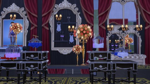 Lbd Lingerie Store At La Boutique De Jean 187 Sims 4 Updates
