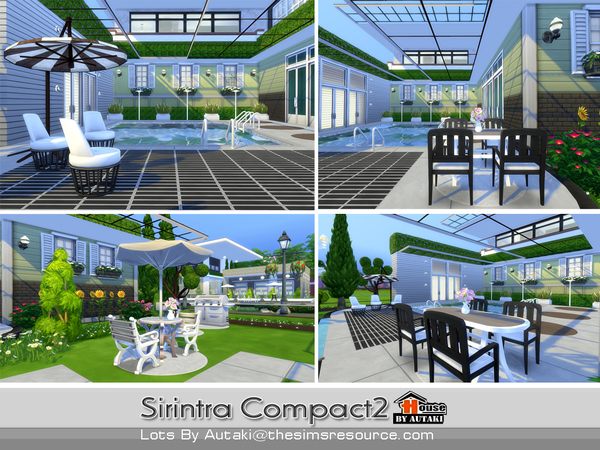 Sirintra Compact Design 2 by autaki at TSR image 913 Sims 4 Updates