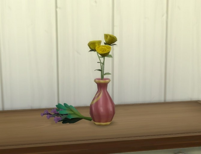 Vase for Garden Flowers by plasticbox at Mod The Sims image 9219 670x516 Sims 4 Updates
