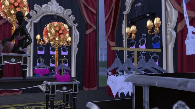 Sims 4 LBD Lingerie store at La Boutique de Jean