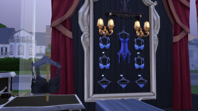 Lbd Lingerie Store At La Boutique De Jean 187 Sims 4 Updates