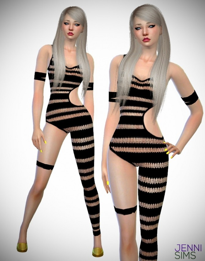 Body Jumpsuits at Jenni Sims image 9415 670x852 Sims 4 Updates