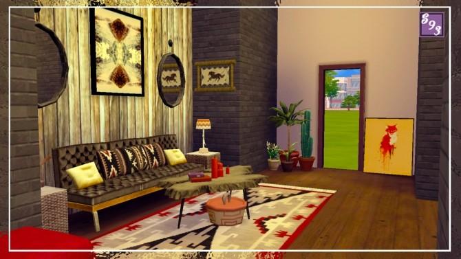 Southwest Living Room at Shenice93 image 944 670x377 Sims 4 Updates