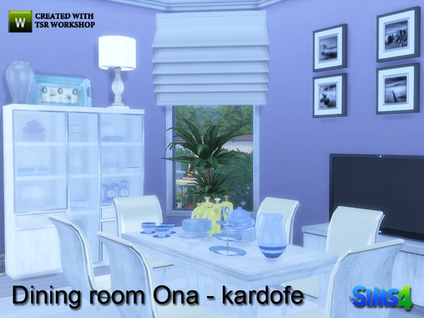 Ona diningroom by kardofe at TSR image 949 Sims 4 Updates
